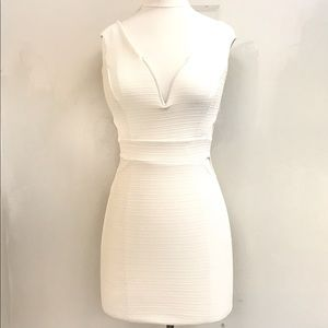 Short Off White Dress